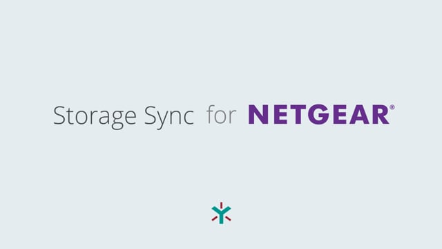 Storage Sync for NETGEAR