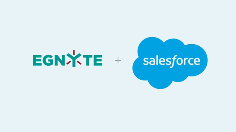 Egnyte + Salesforce Video