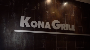 Kona Grill reduces back-office burdens, giving managers more time with guests