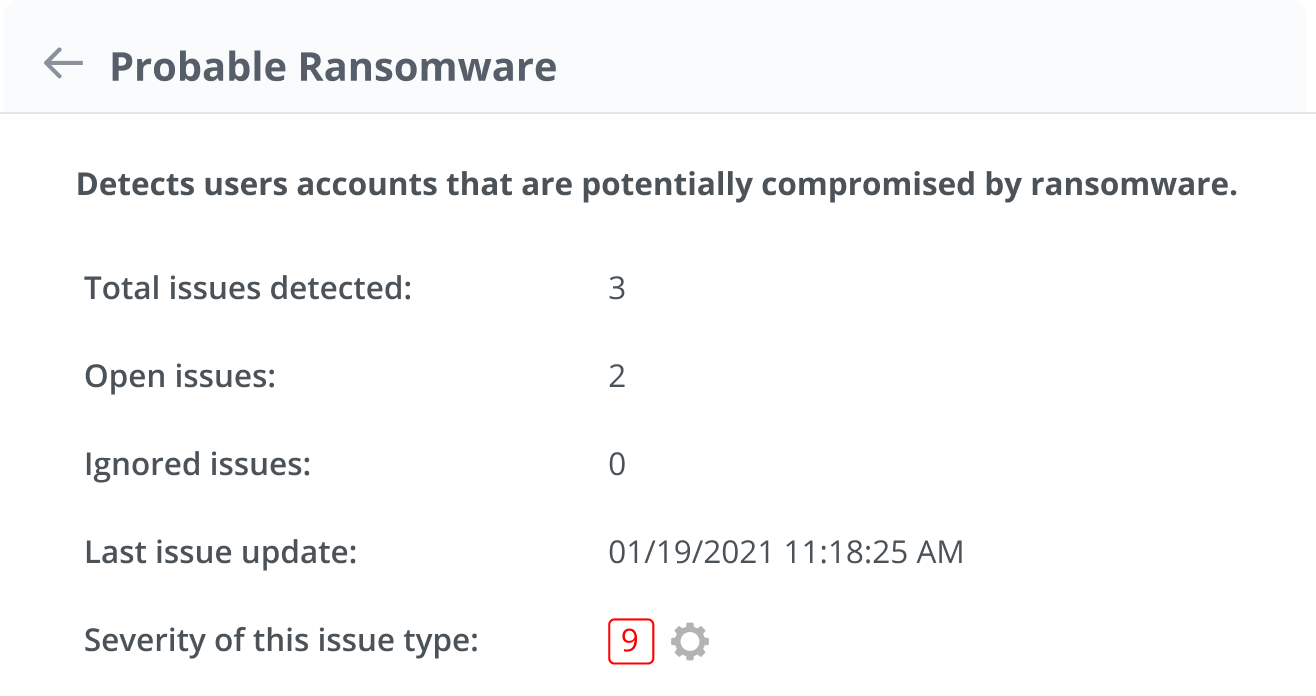 Minimize potential ransomware damage from overexposed sensitive data