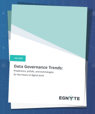 2020 Data Governance Trends Report