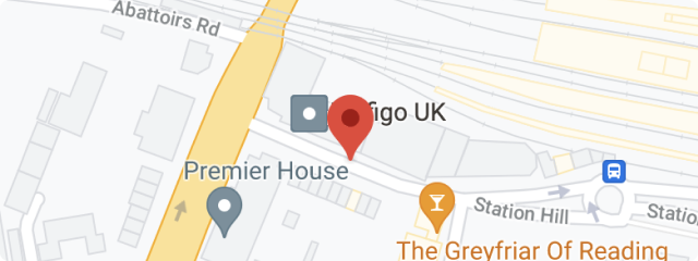 united kingdom office location on map