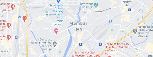 map of mumbai india