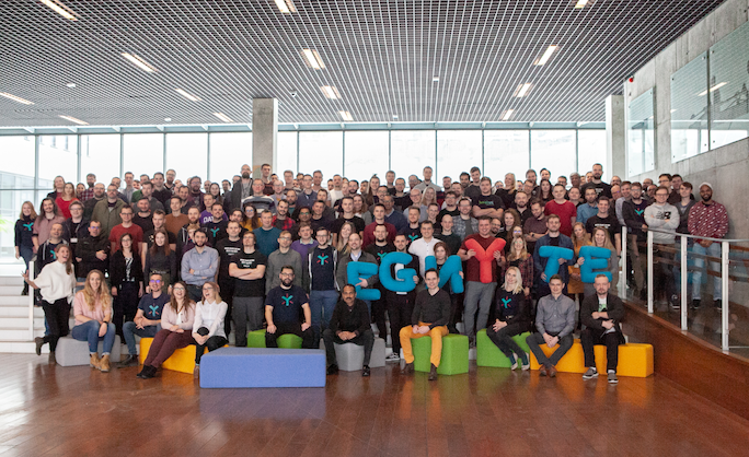 egnyte team members in poland